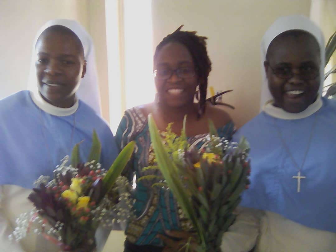 First Profession of Sister Margaret and Sister Reason.. LCBL Hedsor Convent.. Harare